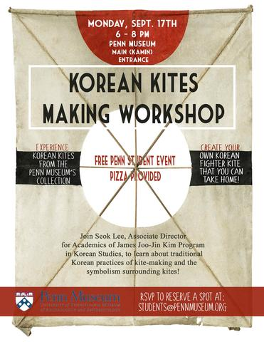 Kite Making At Penn Museum College Houses Academic Services
